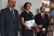 Titul Středočeský Kramerius 2015 získala i knihovnice z Chocerad Lucie Vrtalová.