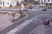 Kamera v Roudnici dohlíží například na ulici Špindlerova