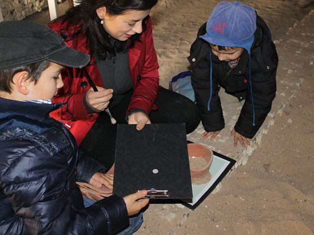 Mezinárodní den archeologie v sázavském klášteře.