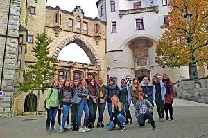 Návštěva vlašimských studentů v Německu.