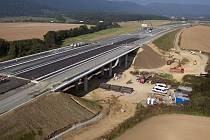 Výstavba dálnice. Ilustrační foto.