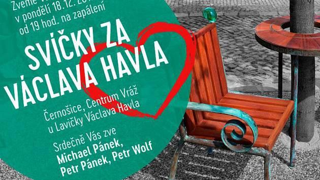Šesté výročí úmrtí prvního porevolučního československého i českého prezidenta Václava Havla, který zesnul 18. prosince 2011, si jeho příznivci připomenou v pondělí v Černošicích na Praze-západ.