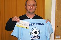 Antonín Brejla  z Krusičan se ve 12. kole radoval z výhry díky přesnému počtu branek. Za kvalitní trefu získal stokorunovou poukázku od sázkové kanceláře Fortuna a tričko.
