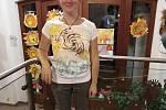 V muzeu Štěpánovska batikovali trička a vyráběli vánoční ozdoby.