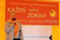 Liga proti rakovině Praha pořádala preventivní akci pod názvem Každý je strůjcem zdraví svého.