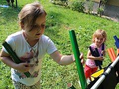 Děti v Benešově oslavovaly svůj den.