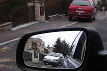 Situace v Hrubínově ulici.