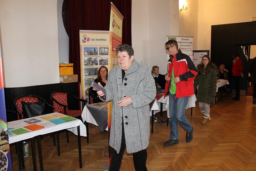 Z veletrhu vzdělávání v Benešově.