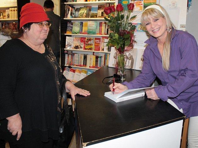 Chantal Poullain v Benešově.