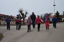 Děti z louňovické školy zažily foglarovský příběh Rychlých šípů na vlastní kůži.