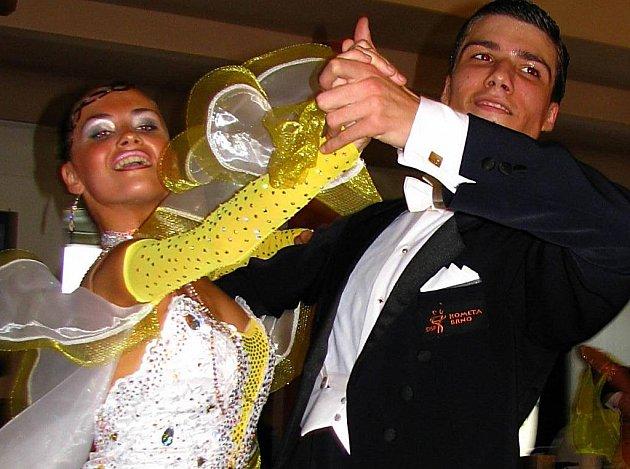 Taneční soutěž v Týnci.