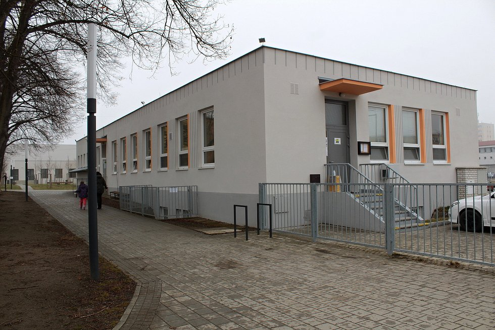 Školní jídelna v Týnci nad Sázavou.
