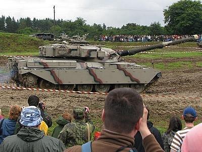 8. tankový den v Lešanech