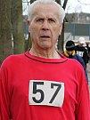 Nejstarší účastník běhu, Jan Slabý z Votic, ročník 1936.