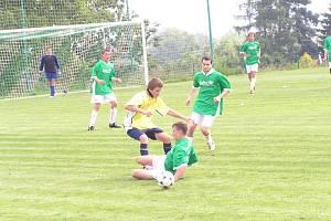 Okresní fotbalový pohár v Olbramovicích v dorostu Divišov - Pravonín.