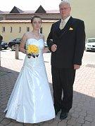 Radka Kuklová a Martin Langmayer, oba z Benešova.