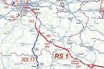 Koridor rychlodráhy má vést vtěsné blízkosti Vlašimi.