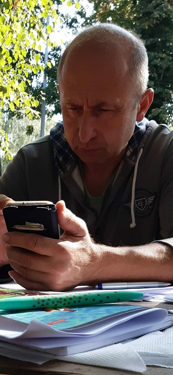 Veterinář Vladimír Šimoník.