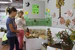 Z výstavy Skřítek Podzimníček v Domě dětí a mládeže v Benešově.