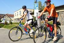 Cyklisté nyní Benešovem jezdí podle starosta odnikud nikam.