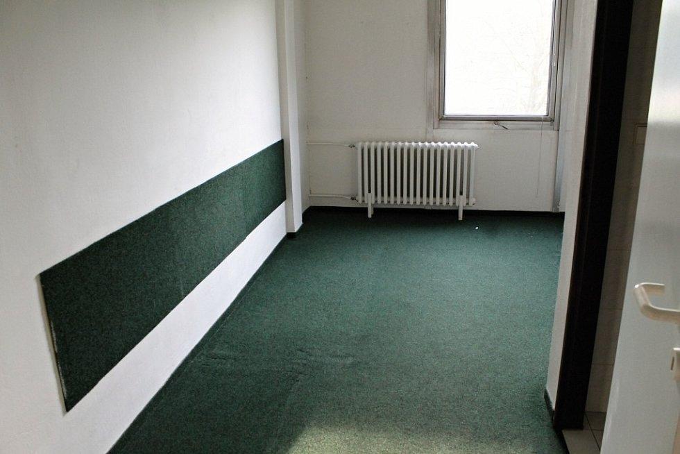 Původní podoba pokoje v hotelu ZS.