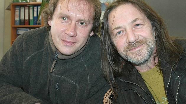 Pavel Křížek a Štěpán Kojan.