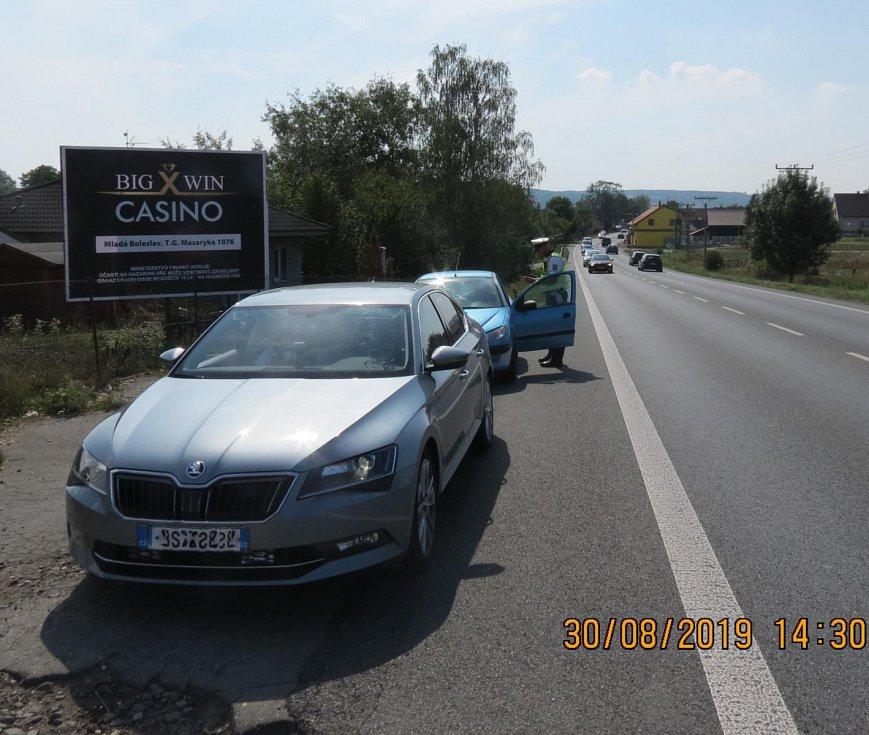 Konec prázdnin na silnicích: Mladoboleslavsko.