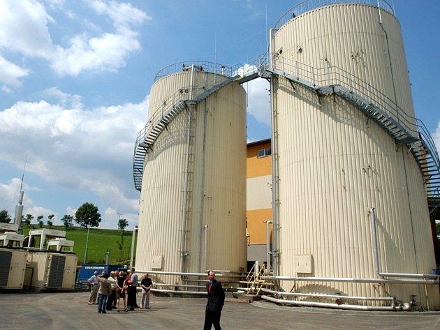 Bioplynová stanice v Přibyšicích je na prodej.
