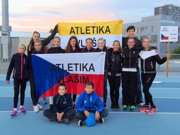 Vlašimská výprava na European Kids Athletics Games (závodníci bez doprovodu).
