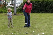 Turnaje se zúčastnili dospělí i malí hráči.