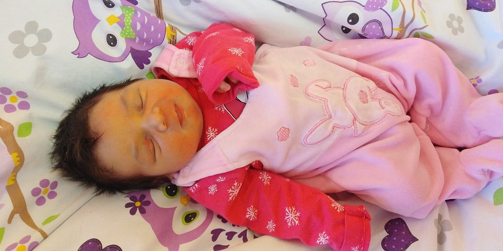 Maruška Benešová se poprvé na svět podívala 14. února 2021 v 5. 37 hodin v čáslavské porodnici. Pyšnila se porodními mírami 4100 gramů a 50 centimetrů. Doma v Kutné Hoře se z ní těší maminka Michala a tatínek Jaroslav.