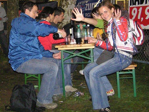 Michal Viewegh na loňském Sázavafestu v Sázavě. I letos by měl na festival dorazit. Nebude ho však mít doma, musí jet do Kácova.