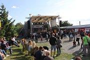 Návštěvníky Rockového odpoledne dozajista zaujala i osobitá hudba kapely Ultima.