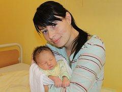 Malá Veronika se narodila 1. listopadu ve 13.57. Na svět přišla s váhou 3,20 kilogramu a mírou 50 centimetrů. Z prvorozené dcery se radují rodiče Veronika a Jiří Struskovi z Mokré Lhoty.