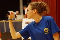 Denisa Dadová z Mezihoří se na mistrovství Rakouska soustředí na hod.