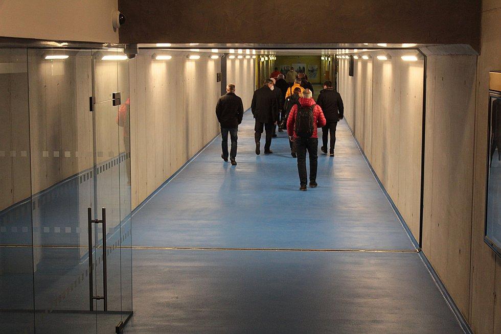 Dopravní terminál v Benešově na začátku zkušebního provozu v pátek 11. prosince 2020.