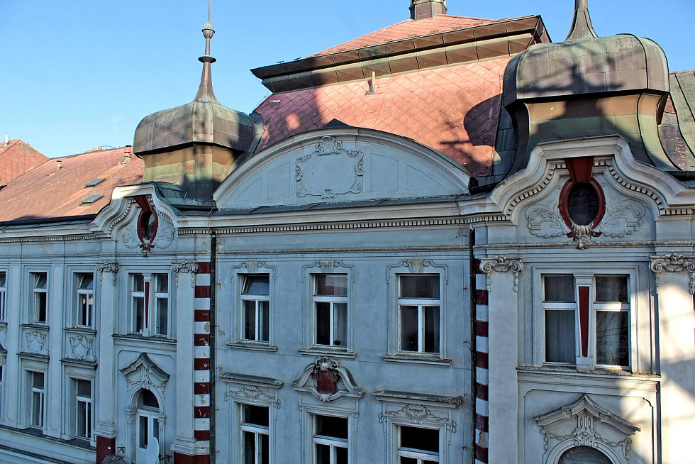 Hotel Pošta v benešovské Tyršově ulici čeká rekonstrukce za 300 milionů korun.