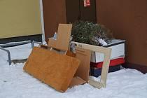 Nepovolené skládky odpadu.
