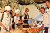O víkendu se uskuteční v Historicko – řemeslném centru Šelmberk třetí ročník Festivalu dobové kuchyně.
