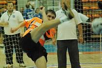 Singlista benešovského Šacungu Václav Kadeřábek se na mistrovství republiky probojoval do čtvrtfinále.