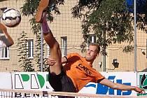 Benešovský ranař Jiří Doubrava v derby s Čelákovicemi zatížil konto soupeře trojicí dílčích porážek.