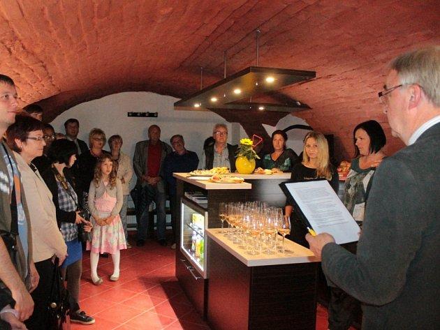 Slavnostní otevírání benešovského podzemí.