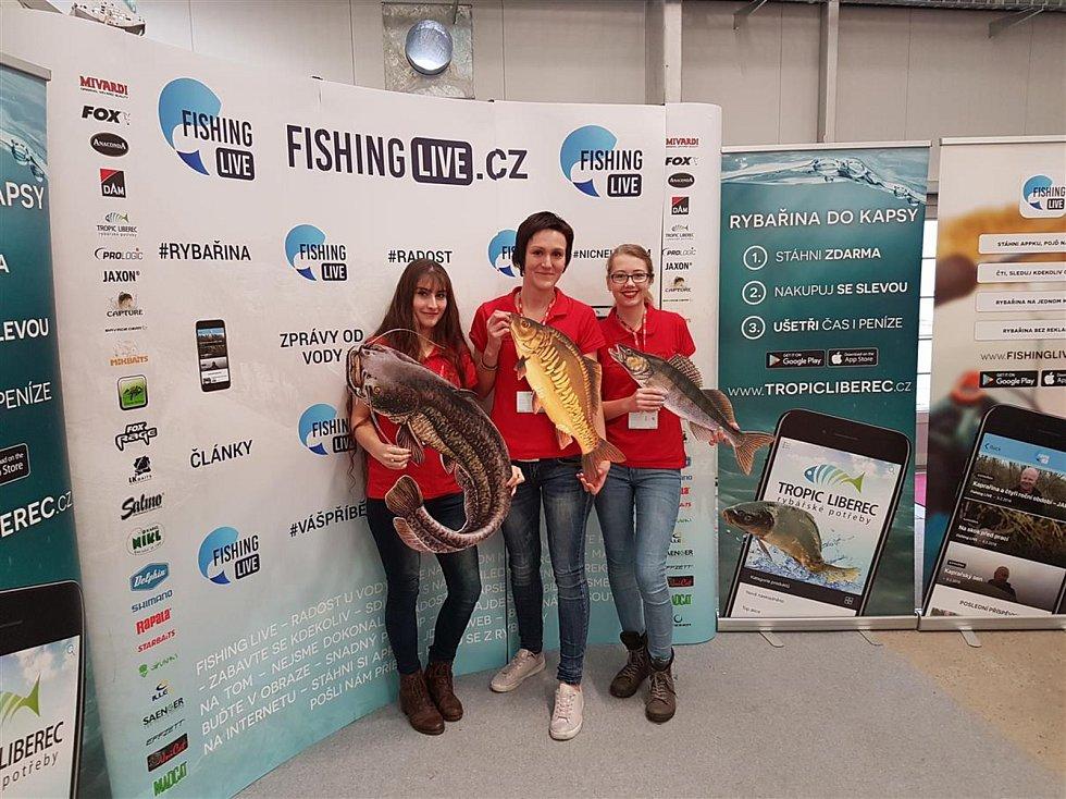 Kladrubská organizace handicapovaných rybářů prezentovala svou činnost na známém veletrhu.