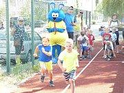 Závody v atletice si užili v Benešově nejmenší.