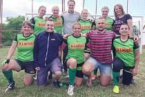 Ženský tým RC Sedlčany po posledním turnaji.