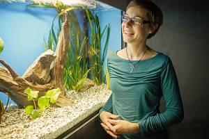 Tereza Ptáčková je manažerka návštěvnického střediska Vodní dům v Hulicích.