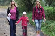 Bystřická šlápota je vhodná i třeba jenom  jako příjemná procházka po okolí před obědem, nebo coby lehká tůra pro celé rodiny.