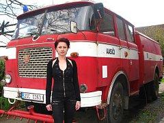 Monika Topolová z Mokré Lhoty se při castingu představila komisi jako první ze všech přihlášených hasiček.