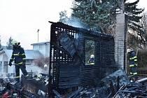 Požár objektu v Kališti o rozměrech 5×5 metrů hasiči v úterý 24. března lokalizovali v 18.13 a zlikvidovali v 18.57.