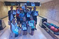 Děti si z turnaje odnesly nejen hezké zážitky, ale i diplomy a věcné ceny.